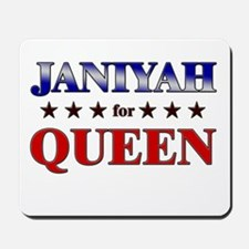 JANIYAH for queen Mousepad