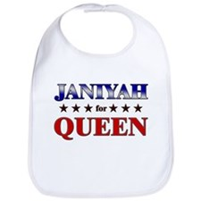 JANIYAH for queen Bib