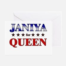 JANIYA for queen Greeting Card