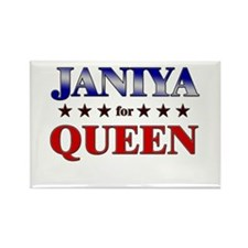 JANIYA for queen Rectangle Magnet