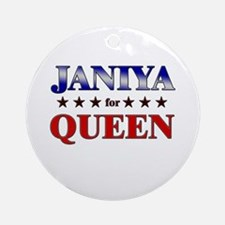 JANIYA for queen Ornament (Round)