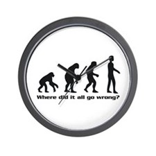 Evolution - Where did it all go wrong? Wall Clock