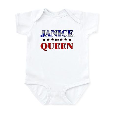 JANICE for queen Infant Bodysuit