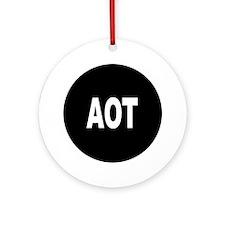 AOT Ornament (Round)