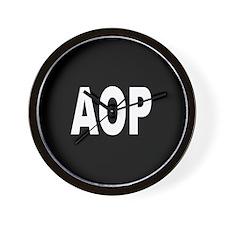 AOP Wall Clock