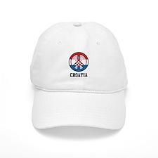 Croatia Peace Baseball Cap