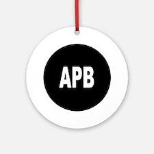 APB Ornament (Round)