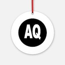 AQ Ornament (Round)