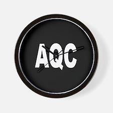 AQC Wall Clock