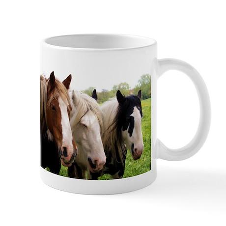 Three Horses Mug