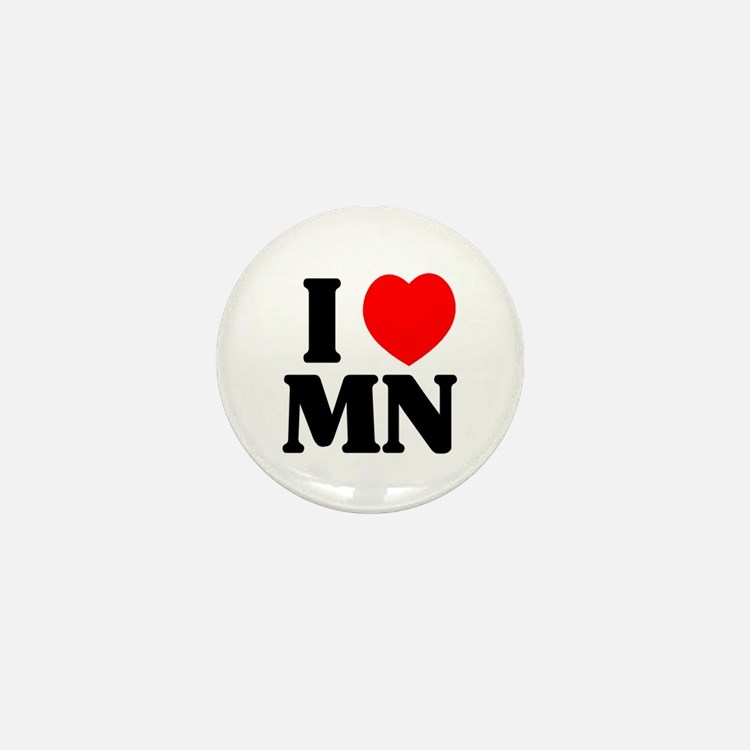 I love Minnesota Mini Button