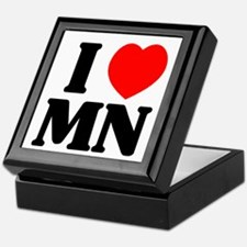 I love Minnesota Keepsake Box