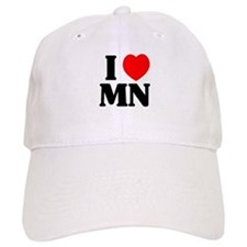 I love Minnesota Baseball Cap
