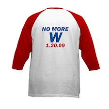 No More W 1.20.09 Bush's Last Tee