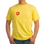 A Kiss For You Yellow T-Shirt