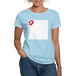 A Kiss For You Women's Light T-Shirt