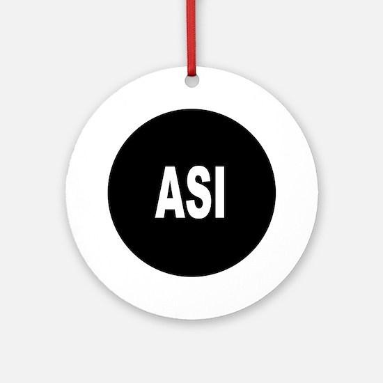 ASI Ornament (Round)