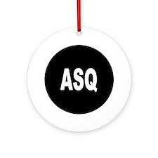 ASQ Ornament (Round)