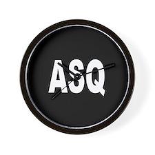 ASQ Wall Clock