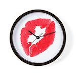 Big Kiss Wall Clock
