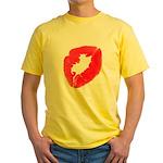 Big Kiss Yellow T-Shirt