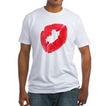Big Kiss Fitted T-Shirt
