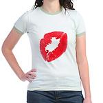 Big Kiss Jr. Ringer T-Shirt