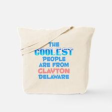 Coolest: Clayton, DE Tote Bag
