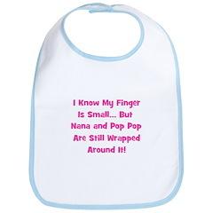 Nana & Pop Pop Wrapped Around Bib