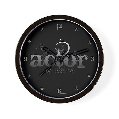 Urban Actor Wall Clock