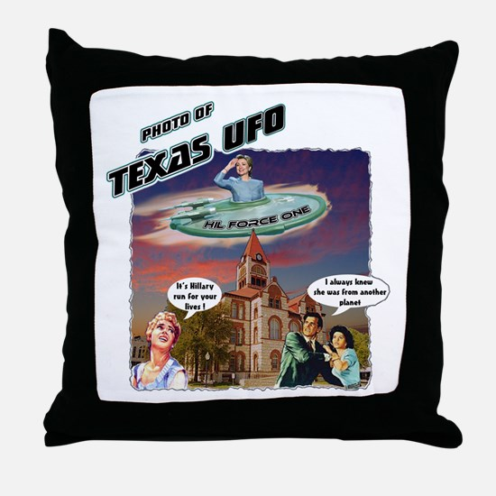 Texas UFO was actually Hill Force One! Hillary Cli
