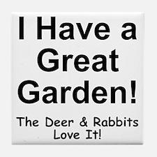 Great Garden Tile Coaster