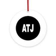 ATJ Ornament (Round)