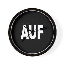 AUF Wall Clock