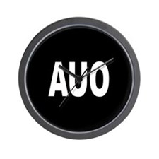 AUO Wall Clock