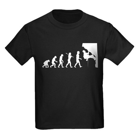 Rock Climbing Kids Dark T-Shirt