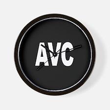 AVC Wall Clock