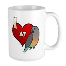 I Love my Red-Bellied Parrot Mug