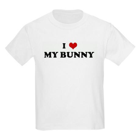 I Love MY BUNNY Kids Light T-Shirt