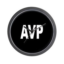 AVP Wall Clock