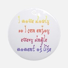 Disability Optimism Ornament (Round)