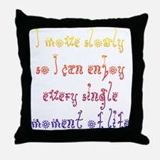 Disability Optimism Throw Pillow