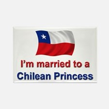 Married to Chilean Princess Rectangle Magnet