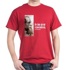 """Dickens """"Expectations"""" T-Shirt"""