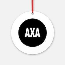 AXA Ornament (Round)