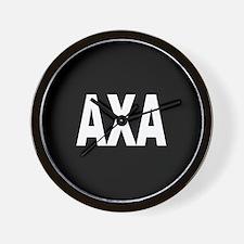 AXA Wall Clock