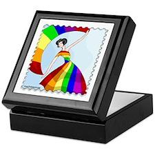 Gay Pride Dance Keepsake Box