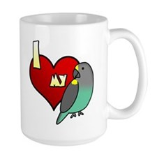 I Love my Meyer's Parrot Mug