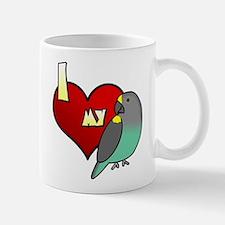 I Love my Meyer's Parrot Mug (Cartoon)