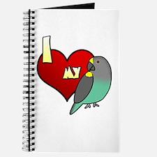 I Love my Meyer's Parrot Journal